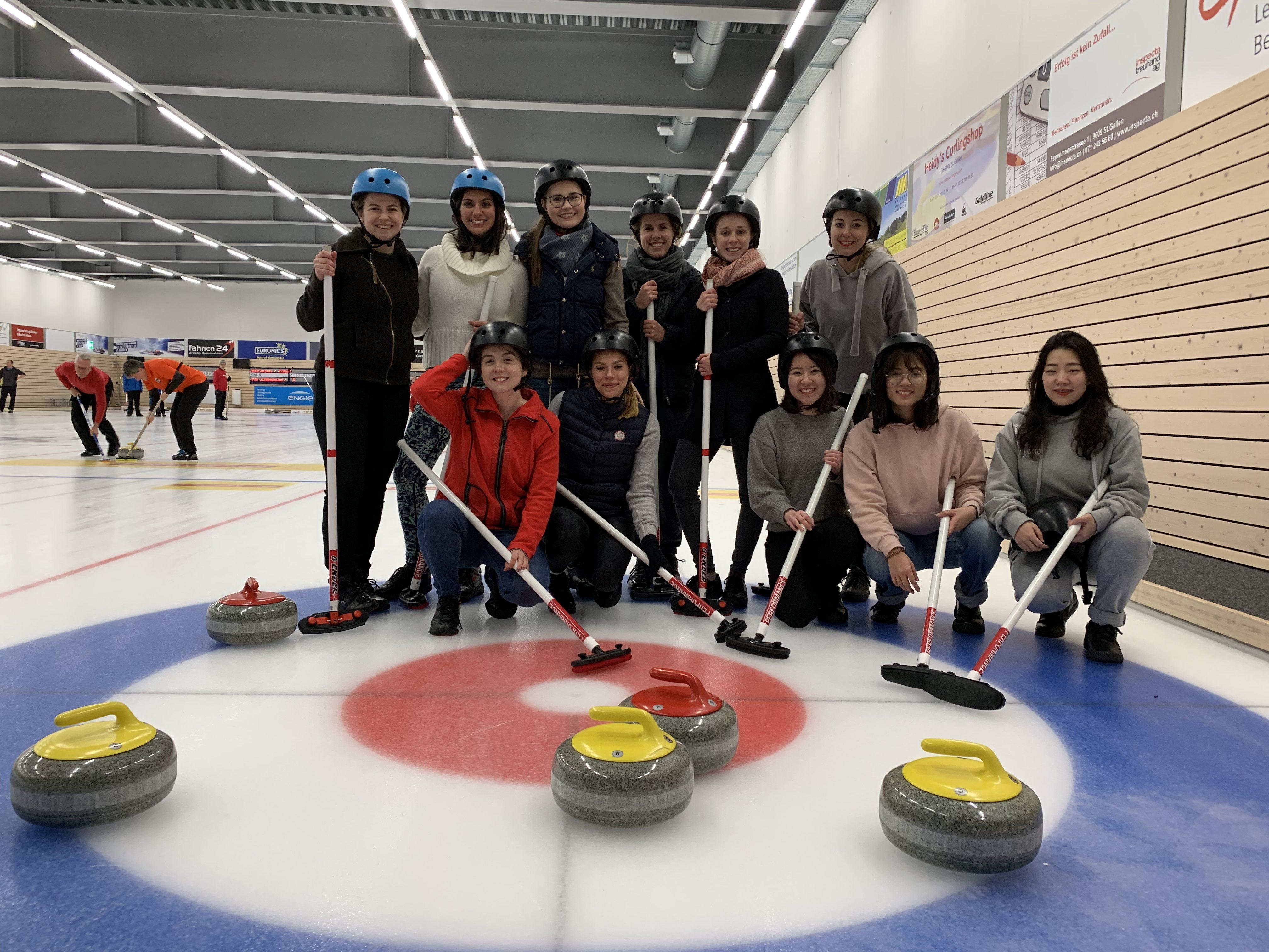 Curling Februar 2019
